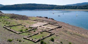 Graves sequías revelan la «Atlántida» alemana