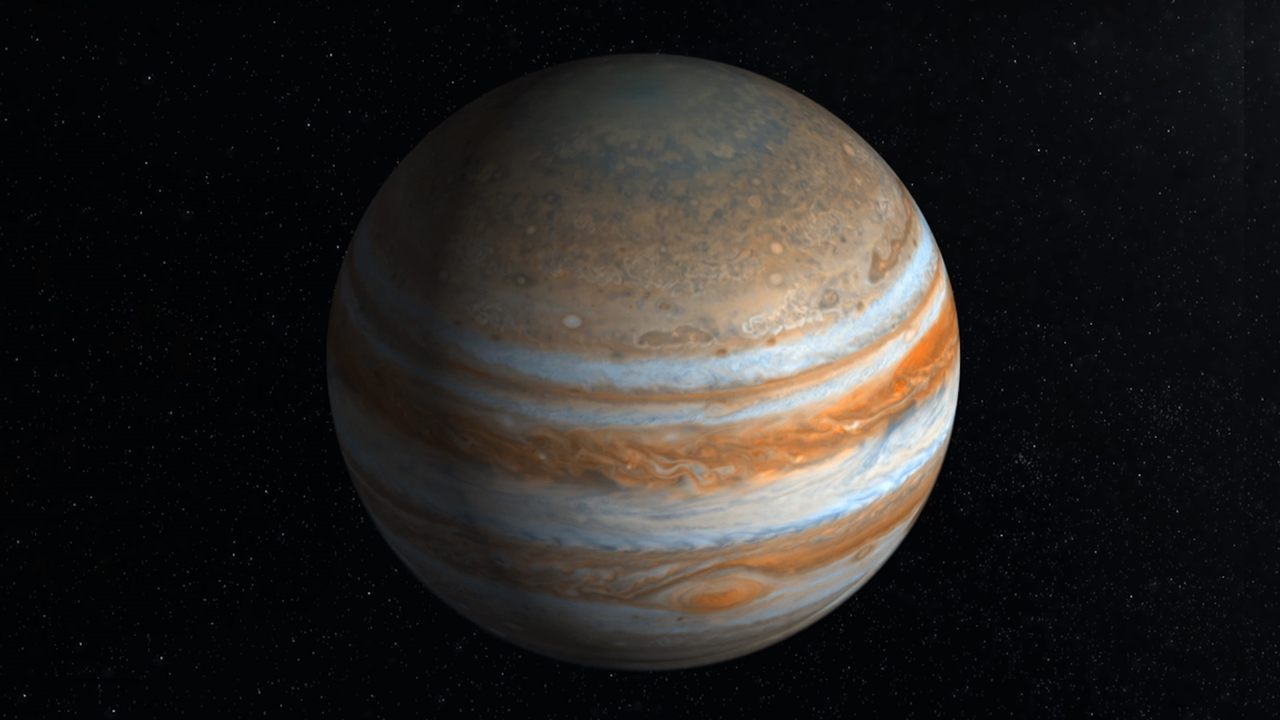 Hallan agua en las nubes de Júpiter, mucha más que la que existe en la Tierra