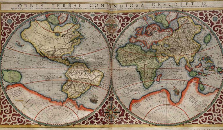 Equal Earth: Idean un nuevo mapa del mundo basado en un mapa de 1569