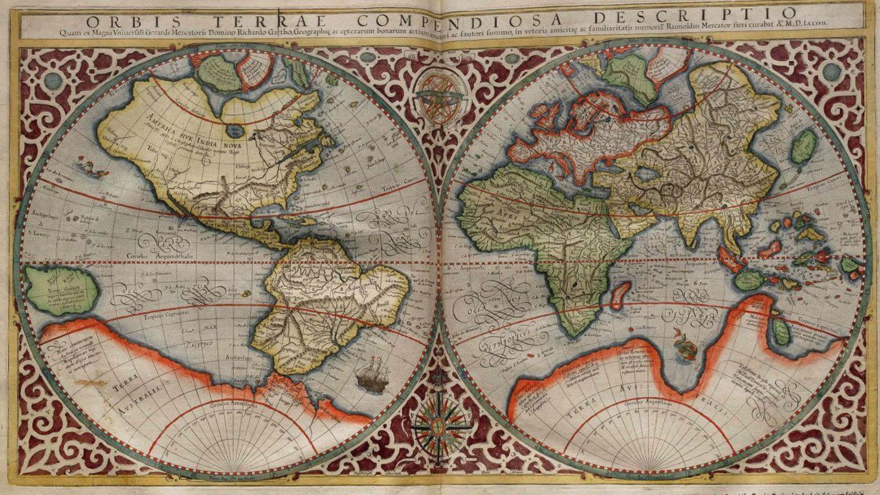 Equal Earth: Idean un nuevo mapa del mundo basado en un mapa del 1569