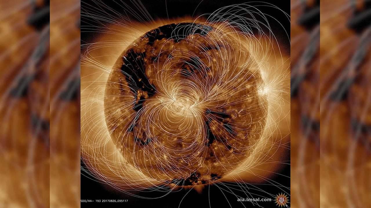 Captan imagen del Sol explotando en tiempo real