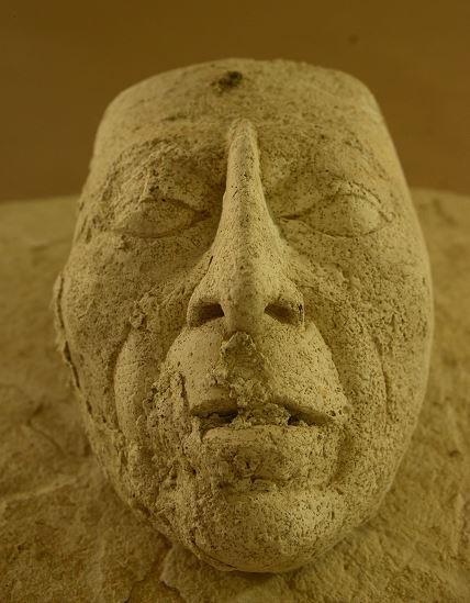 Máscara de Pakal, el mas reciente hallazgo en Palenque.