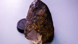 Mineral desconocido hallado dentro de un meteorito es tan duro como el diamante