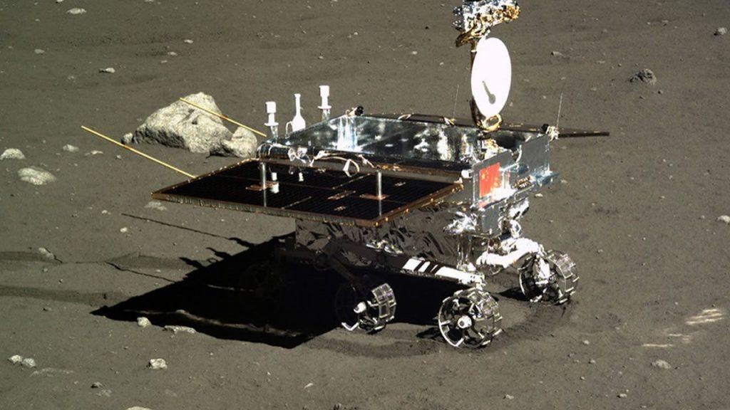 Rover Yutu, de la misión Chang'e 3