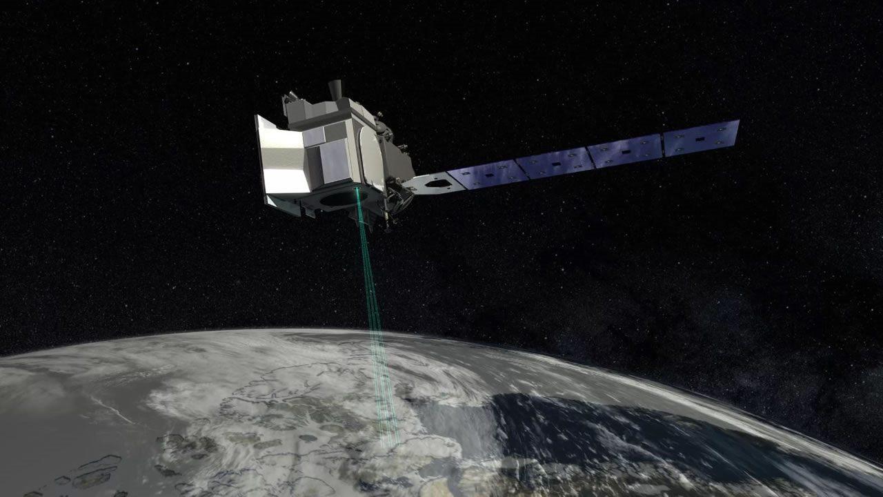 NASA lanzará un láser al espacio para rastrear la fusión del hielo en la Tierra
