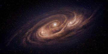 Observan detalladamente una «monstruosa» galaxia distante
