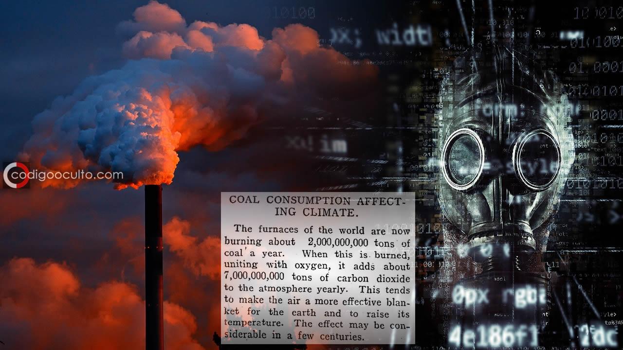 Un periódico de 1912 predijo exactamente el calentamiento global actual