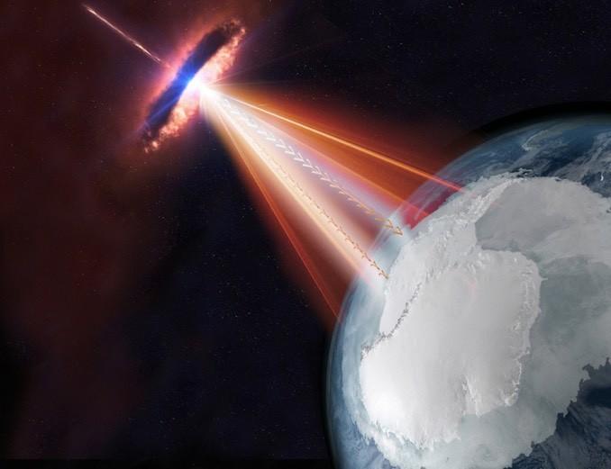 Se cree que los blazars generan neutrinos y rayos gamma, posiblemente explicando al menos una fuente de rayos cósmicos