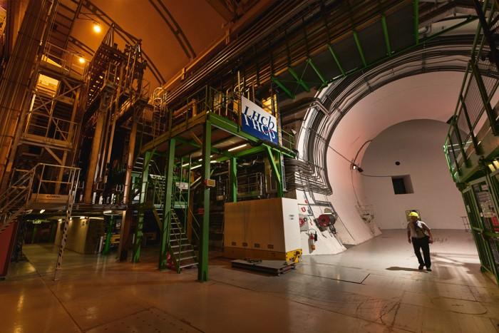El experimento LHCb en el CERN