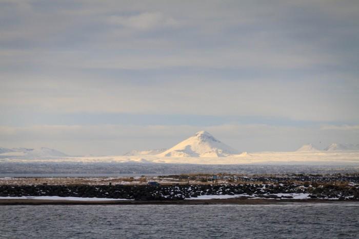 Volcán Katla a la distancia