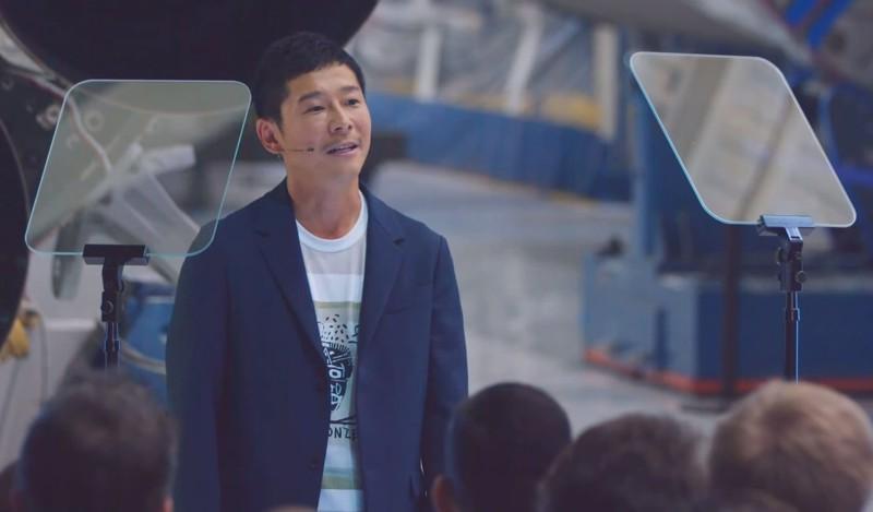 El multimillonario Yusaku Maezawa será el primer turista espacial en orbitar la Luna