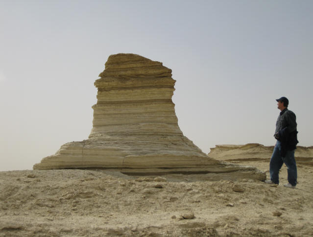Existen varias estructuras que parecen esfinges