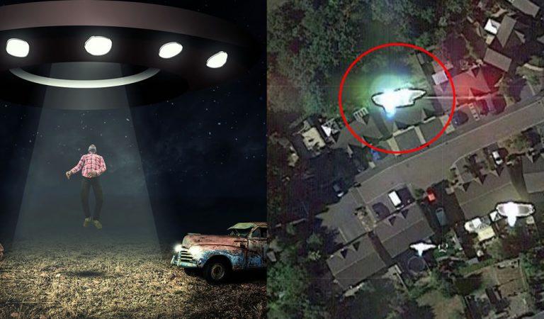 ¿Abducción extraterrestre de ufólogo captada en fotografía satelital?