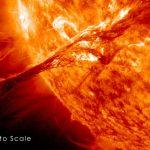 Advierten que una catastrófica tormenta solar podría azotar el planeta