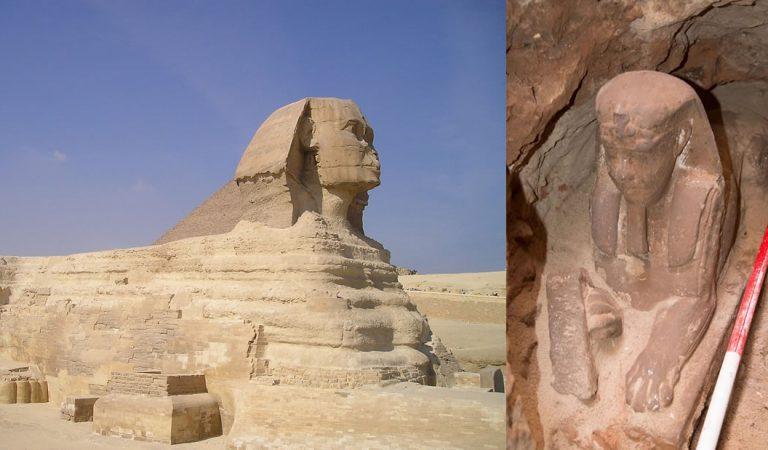 Arqueólogos hallan una nueva Esfinge en Egipto