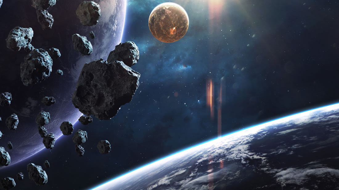 Asteroide binario revela un «combate» entre planetas en el sistema solar temprano