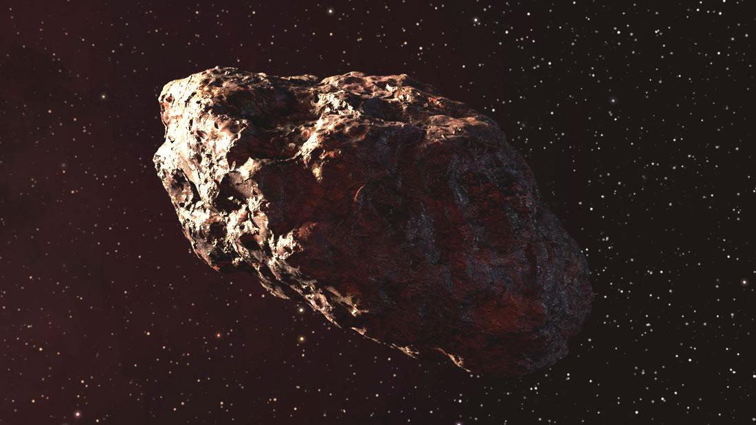 El asteroide 1997 XF11 tiene un tamaño de 2.5 kilómetros, que es equivalente a 250 campos de fútbol o 125 autobuses de dos pisos
