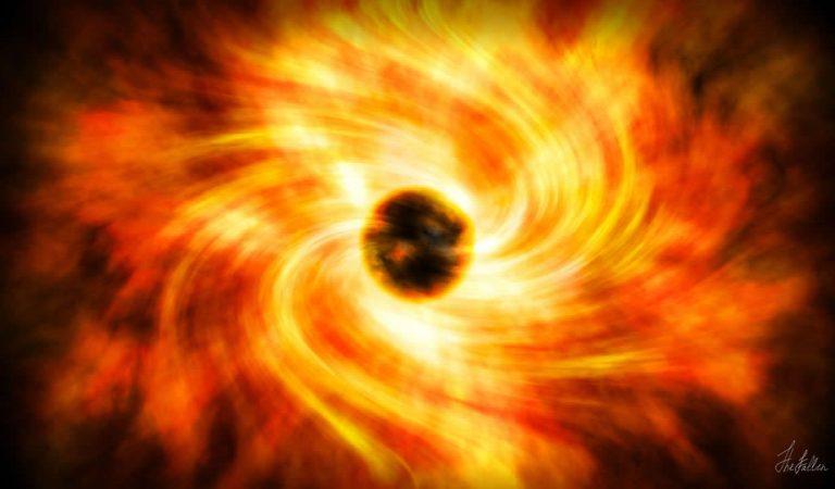Astrónomos observan los momentos previos a la muerte de una estrella