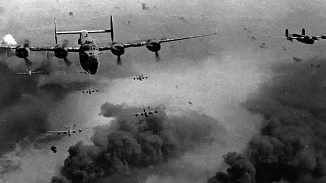Bombas de la Segunda Guerra Mundial tuvieron efecto de ondulación en el borde del espacio