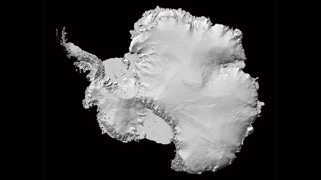 Crean el mejor mapa del terreno de la Antártida existente hasta ahora