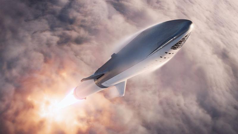 Big Falcon Rocket: La nave de SpaceX que llevará al primer turista a la Luna