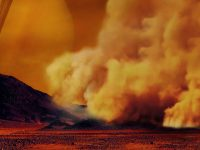 Descubren tormentas de polvo en Titán por primera vez
