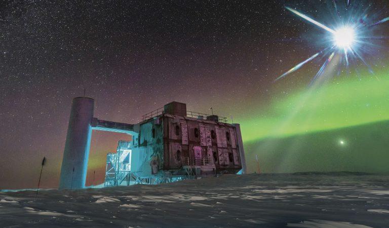 Detectan partículas desconocidas disparadas desde las profundidades de la Antártida