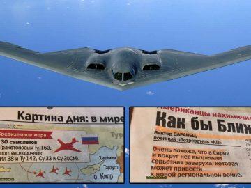 El mayor periódico de Rusia alerta a los ciudadanos para una guerra inminente con EE.UU.