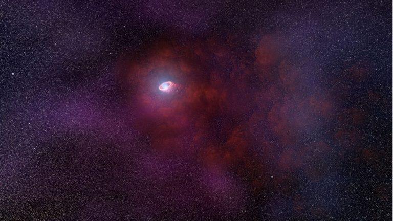 Este misterioso púlsar está enviando señales al espacio