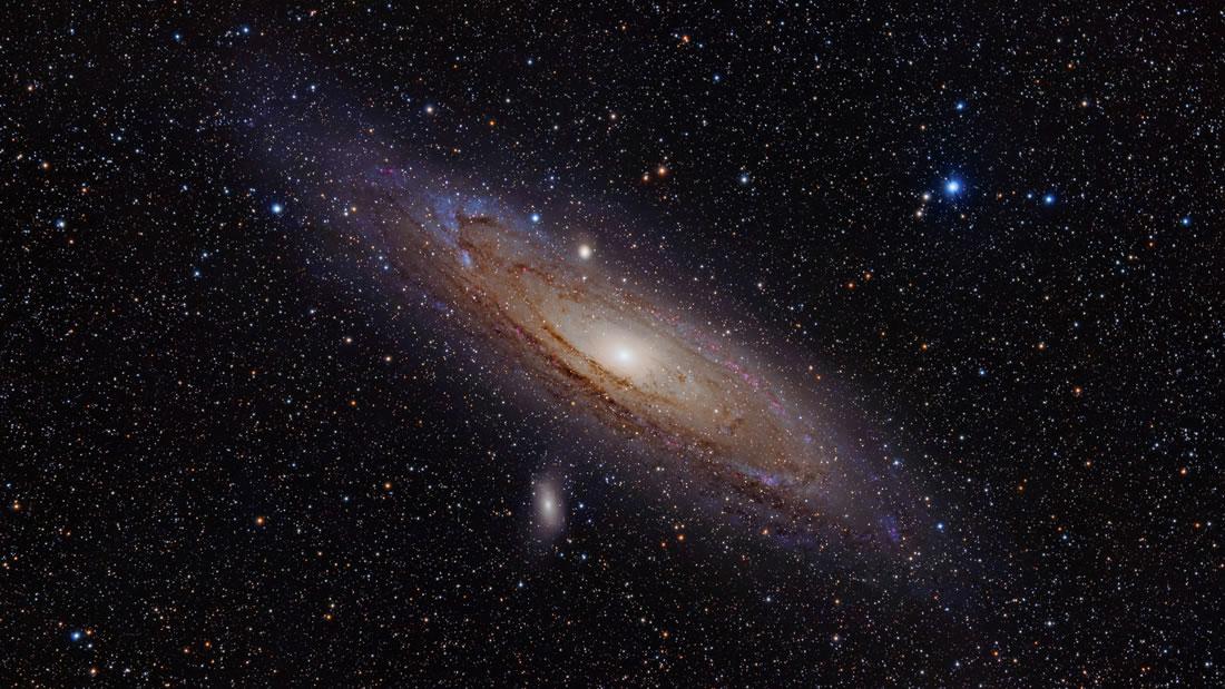 Galaxia Andrómeda será visible este fin de semana a simple vista