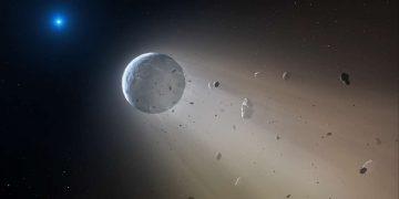 Investigan una estrella enana blanca con «misteriosos» objetos en su órbita