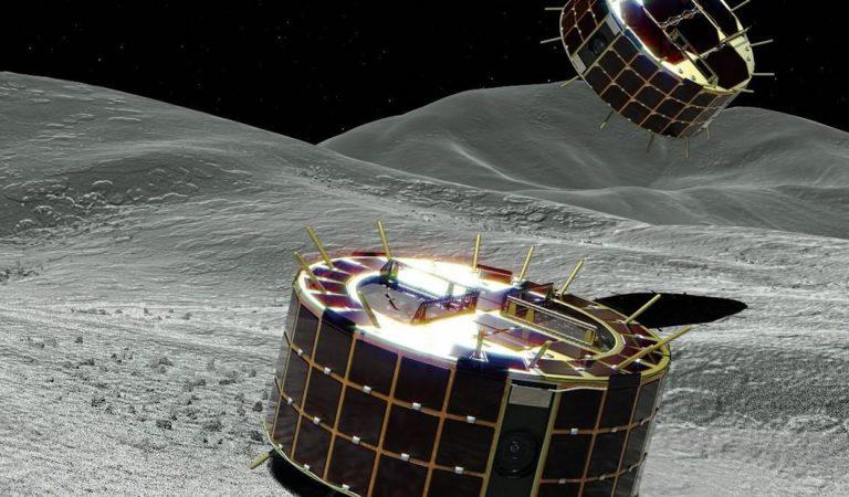 Liberan impresionantes imágenes de la superficie de un asteroide