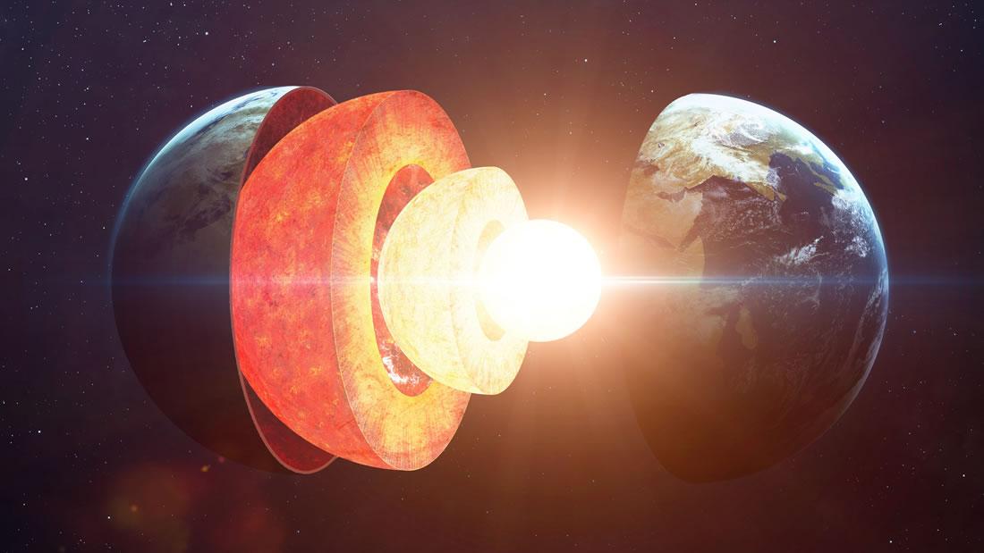 Misteriosas burbujas debajo de la Tierra podrían ser restos de un antiguo océano de magma