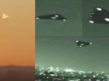 Misterioso OVNI triangular es visto sobre Texas ¿Ingeniería inversa?