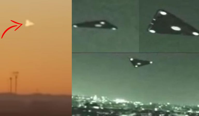 Misterioso OVNI triangular es visto sobre Texas ¿Ingeniería inversa? (Vídeo)