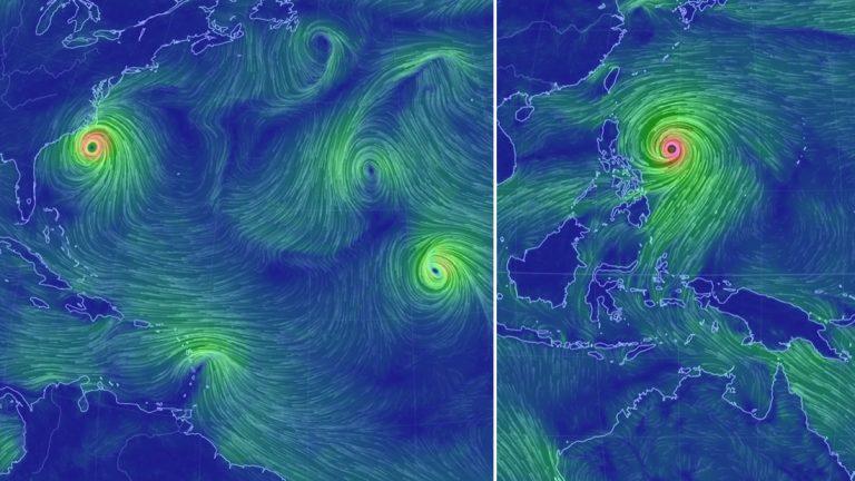Nuestros océanos en completo caos: Hay 6 tormentas activas en este momento