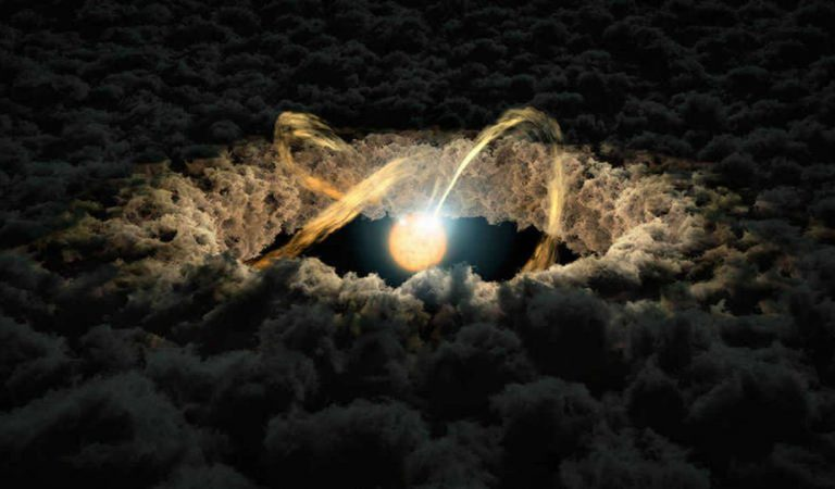 Observan una pequeña estrella que podría explicar cómo la Tierra se formó