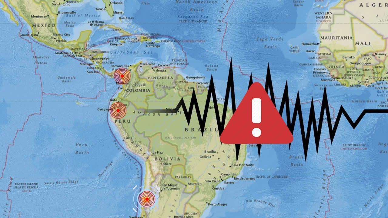 Oleada de fuertes sismos sacude 4 países de América en menos de una hora