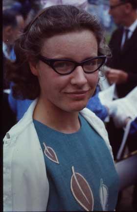 Dame Jocelyn Bell Burnell en 1967