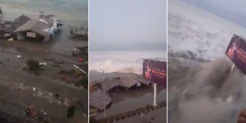 Terremoto en Indonesia desencadena un violento tsunami