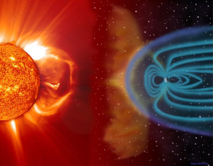 El Sol está experimentando muchas explosiones en este momento.