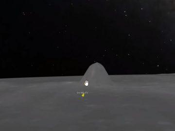 Una extraña «estructura piramidal» en la Luna es revelada por Google Moon