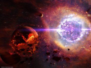 Un misteriosa y colosal explosión en el espacio desconcierta a astrónomos de todo el mundo