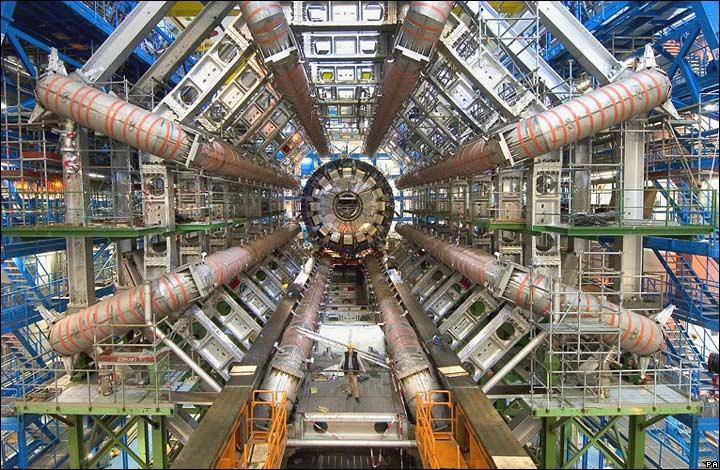 El Large Hadron Collider/ATLAS en el CERN