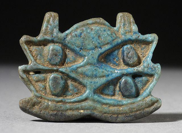 Amuleto del Ojo Múltiple de Horus, Egipto