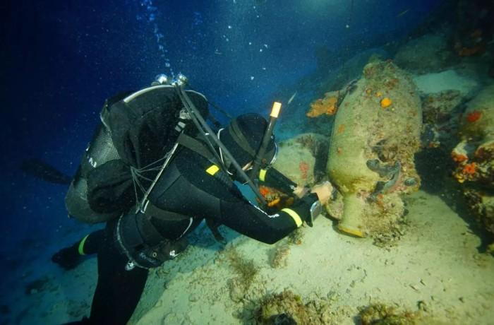 Uno de los naufragios romanos