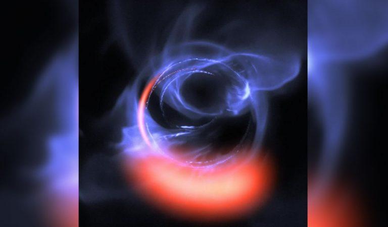 Agujero negro enorme al acecho en el centro de nuestra galaxia es revelado en nuevas imágenes