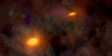 Agujeros negros pueden chocarse en todo el universo