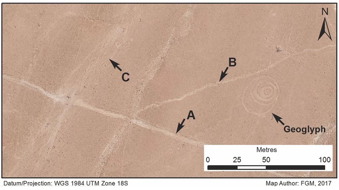 Antiguos viajeros crearon geoglifos circulares cerca de las Líneas de Nasca