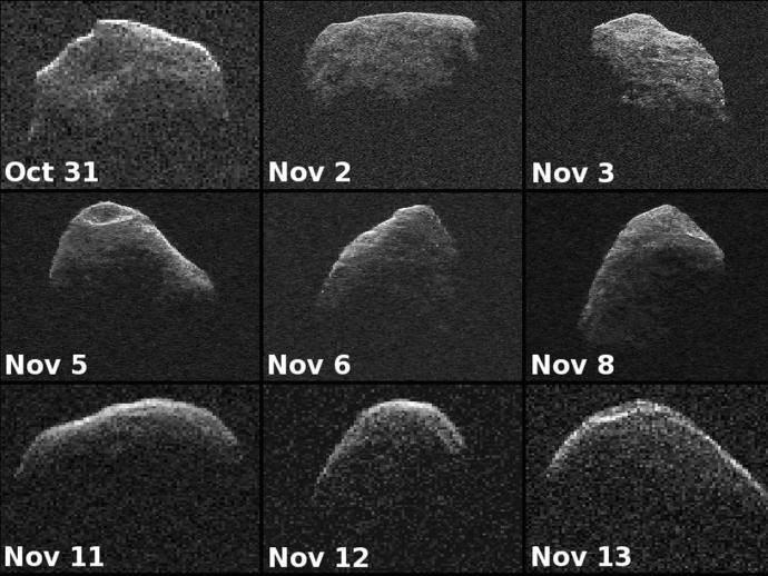 El asteroide Apophis fue descubierto el 19 de junio de 2004